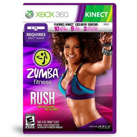 Jogo Zumba Fitness Rush - Xbox 360