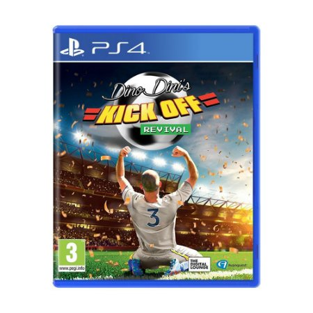 Jogo Dino Dini's Kick Off Revival - PS4