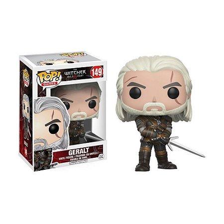 Boneco Geralt 149 The Witcher 3: Wild Hunt - Funko Pop