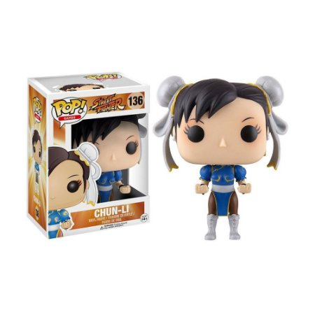 Boneco Chun-Li 136 Street Fighter - Funko Pop