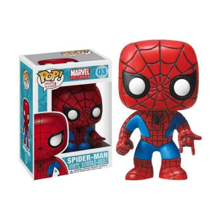 Boneco Spider-Man 03 Marvel - Funko Pop