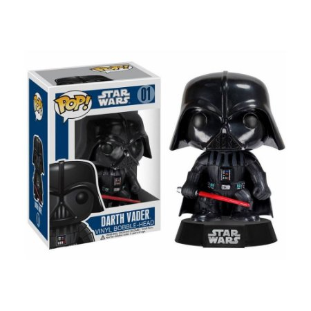 Boneco Darth Vader 01 Star Wars - Funko Pop