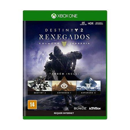 Jogo Destiny 2: Renegados (Coleção Lendária) - Xbox One