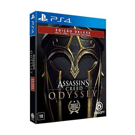Jogo Assassin's Creed: Odyssey (Edição Deluxe) - PS4