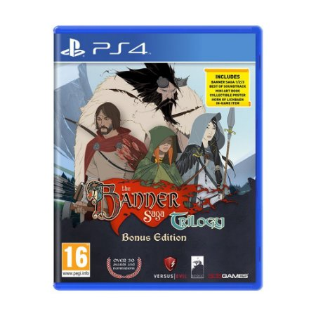 Jogo The Banner Saga Trilogy (Bonus Edition) - PS4