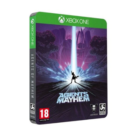 Jogo Agents of Mayhem (Steelbook Edition) - Xbox One