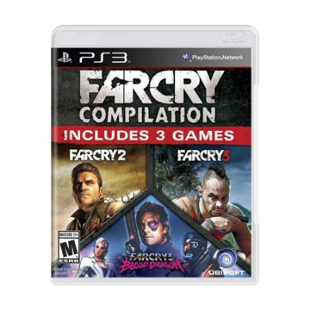 Jogo Far Cry Compilation - PS3