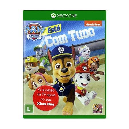 Jogo A Patrulha Canina: Está com Tudo - Xbox One