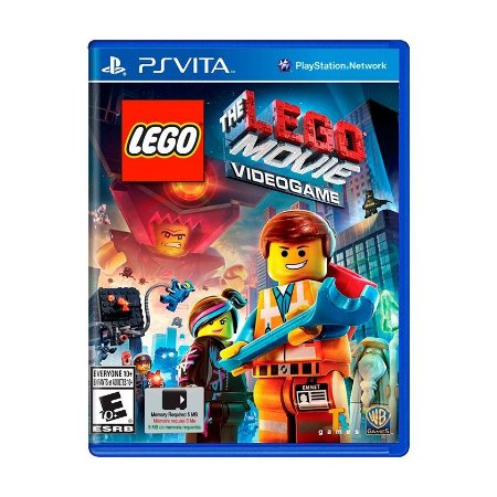 Jogo The LEGO Movie Videogame - PS Vita