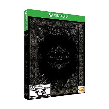 Jogo Dark Souls Trilogy (Steelbook Edition) - Xbox One