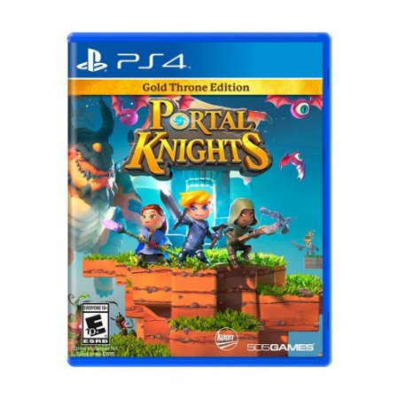 Jogo Portal Knights (Gold Throne Edition) - PS4