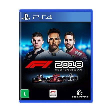 Jogo F1 2018 - PS4