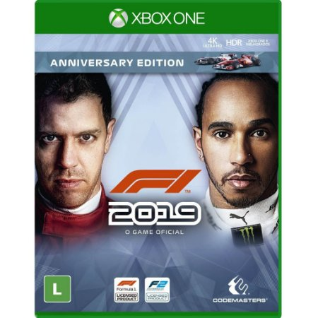 Jogo F1 2019 (Anniversary Edition) - Xbox One