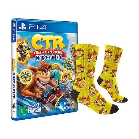 Jogo Crash Team Racing Nitro-Fueled (Edição Limitada) - PS4