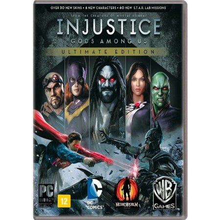 Jogo Injustice: Gods Among Us (Ultimate Edition) - PC