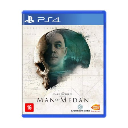 Jogo The Dark Pictures: Man of Medan - PS4