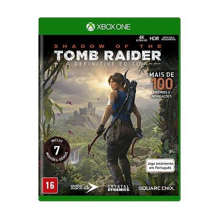 Jogo Shadow of Tomb Raider (A Definitive Edition) - Xbox One