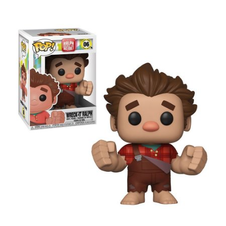 Boneco Ralph 06 Wreck It Ralph - Funko Pop