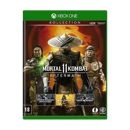 Jogo Mortal Kombat 11 (Aftermath Collection) - Xbox One