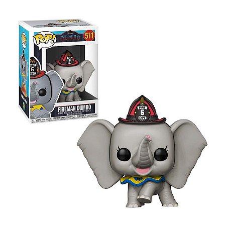 Boneco Fireman Dumbo  511 Disney Dumbo - Funko Pop!