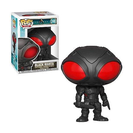 Boneco Black Manta 248 Aquaman - Funko Pop!
