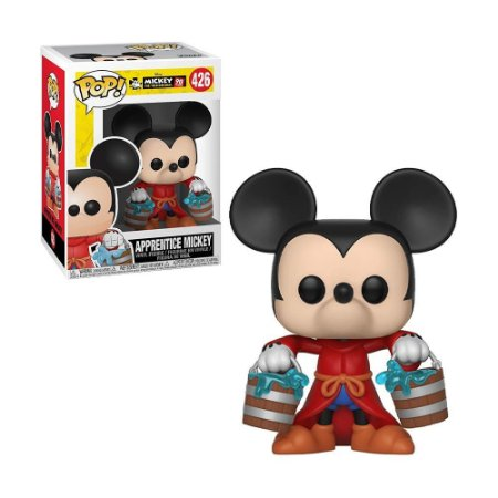 Boneco Apprentice Mickey 426 Disney - Funko Pop!