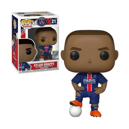 Boneco Kylian Mbappé 21 Paris Saint-Germain - Funko Pop!