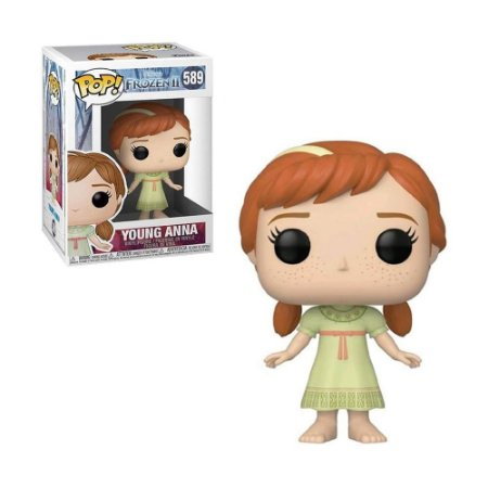 Boneco Young Anna 589 Disney Frozen 2 - Funko Pop!