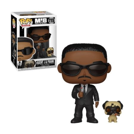 Boneco Agent J & Frank 715 MIB - Funko Pop!