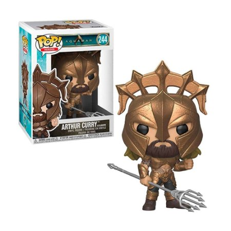 Boneco Arthur Curry 244 Aquaman Funko Pop!