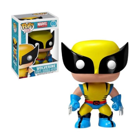 Boneco Wolverine 05 Marvel - Funko Pop!