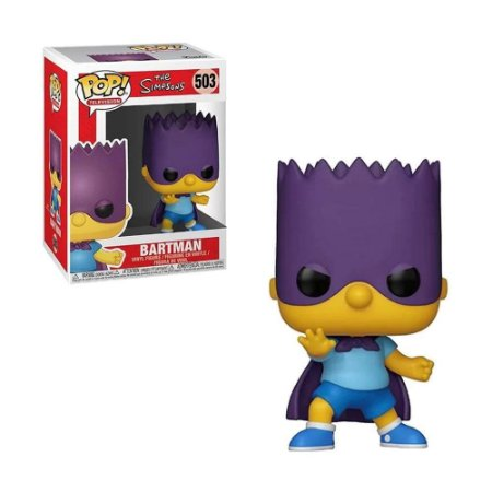 Boneco Bartman 503 The Simpsons - Funko Pop!