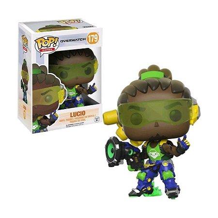 Boneco Lucio 179 Overwatch - Funko Pop!
