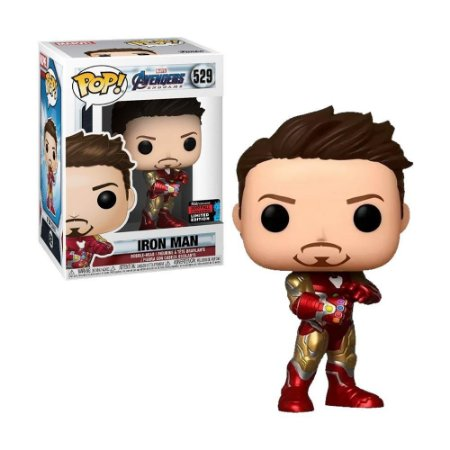 Boneco Iron Man 529 Marvel Avengers Endgame (Limited Edition) - Funko Pop!