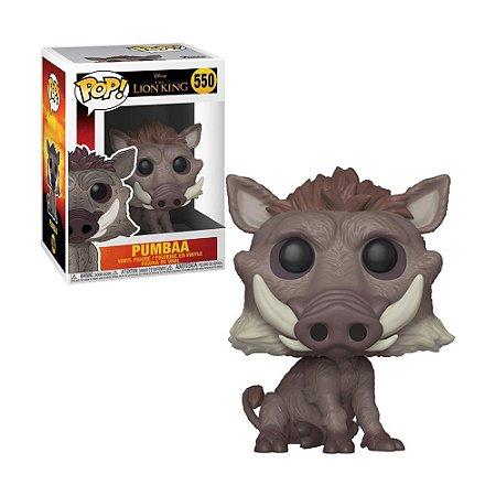 Boneco Pumbaa 550 Disney O Rei Leão - Funko Pop