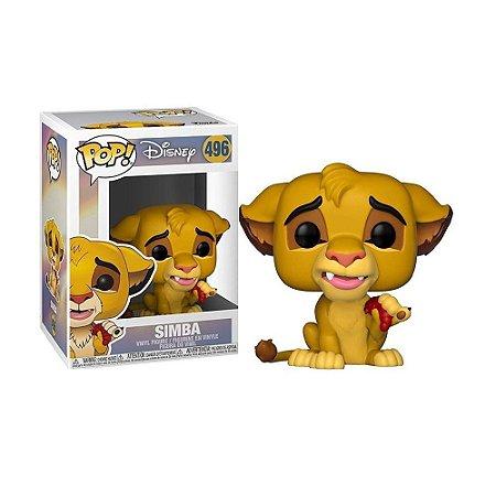 Boneco Simba 496 Disney Simba - Funko Pop!