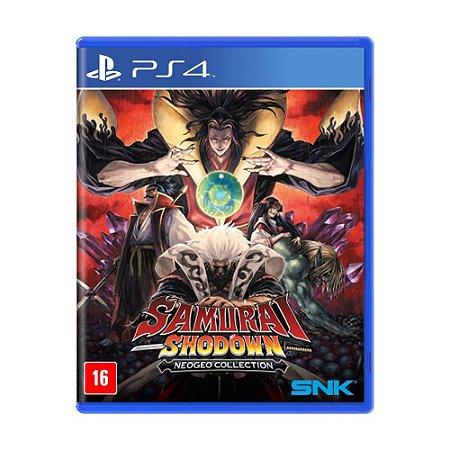 Jogo Samurai Shodown (NeoGeo Collection) - PS4