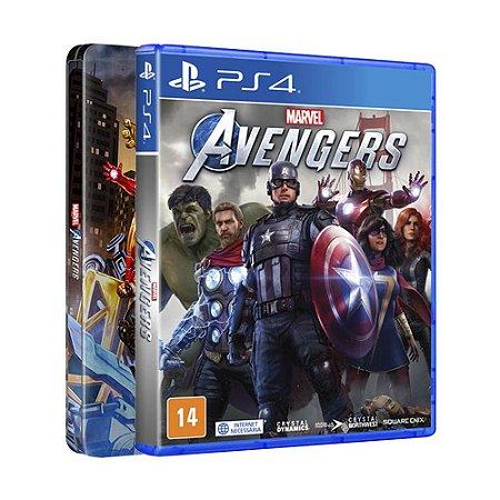 Jogo Marvel's Avengers (SteelBook Edition) - PS4