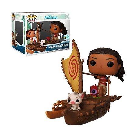 Boneco Moana & Pua on Boat 62 Disney Moana (Limited Edition) - Funko Pop!