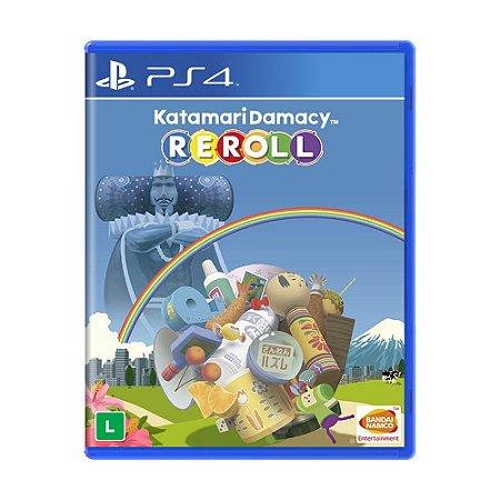 Jogo Katamari Damacy Reroll - PS4