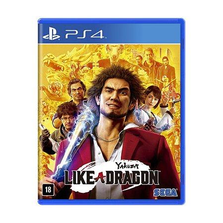 Jogo Yakuza: Like a Dragon - PS4