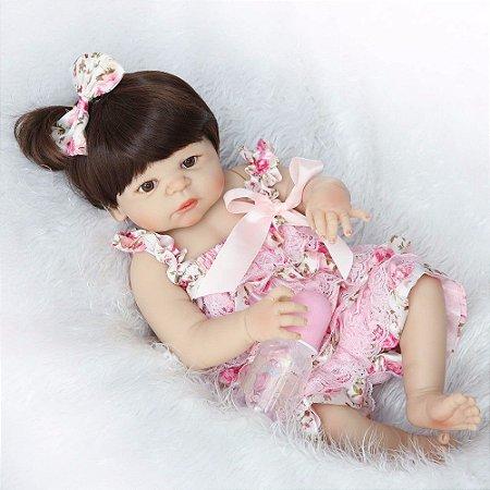 Bebe Reborn Stephanie Toda de silicone