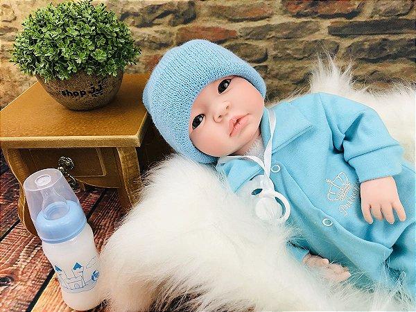 Bebe  Reborn Menino Recem Nascido