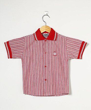 5253991643 Camisa Gola Polo Estampada - Loja Virtual Só Menino