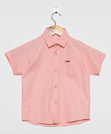 Camisa Manga Curta Lisa Fila