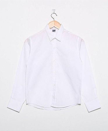 Camisa Manga Longa Social Branca