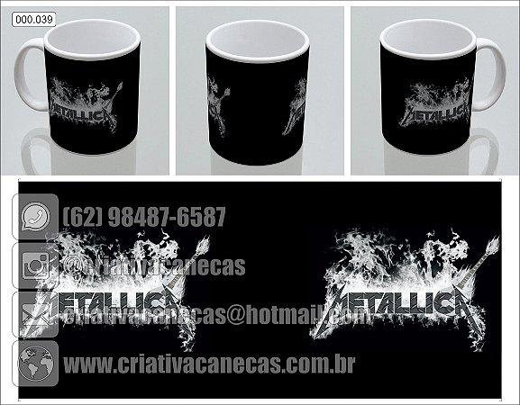Caneca - Metallica