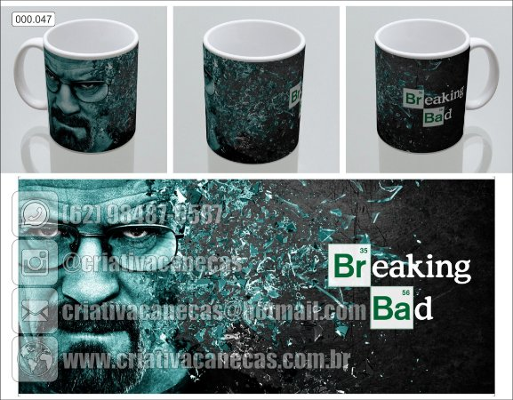 Caneca - Breaking Bad - Heisenberg