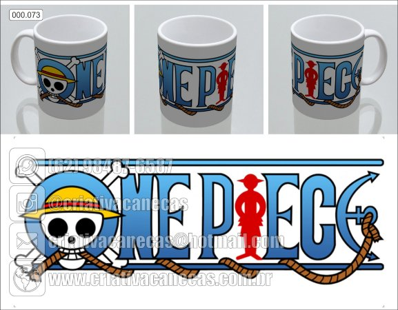 Caneca - One Piece