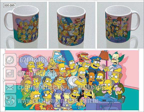 Caneca - Os Simpsons